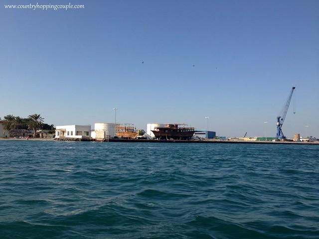 Dhow building Umm Al-Quwain