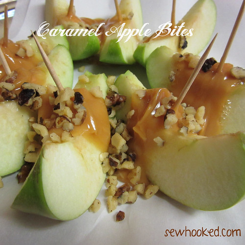 31 Days of Halloween - Caramel Apple Bites (6/6)