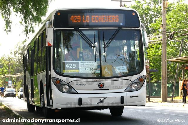 Transantiago - Express de Santiago Uno - Marcopolo Gran Viale / Volvo (CJRH40)