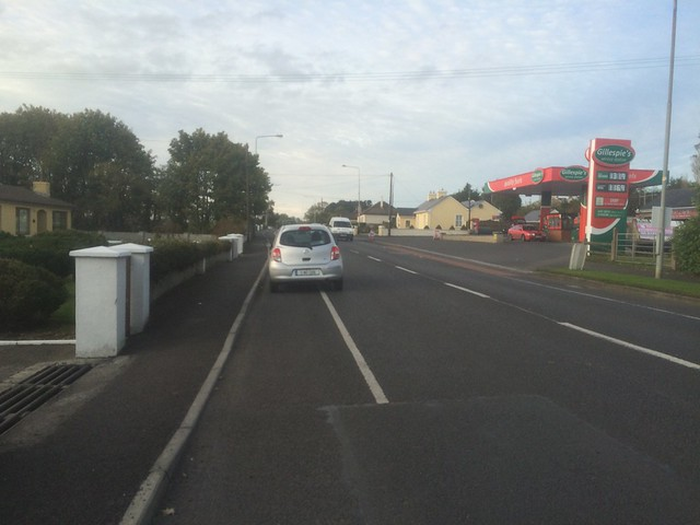 Cycle lanes and cycle paths of Ballina (images updated 2015)