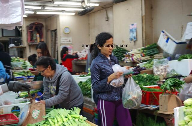 春秧街の野菜
