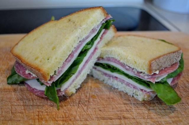 ArtichokeSalamiSandwich