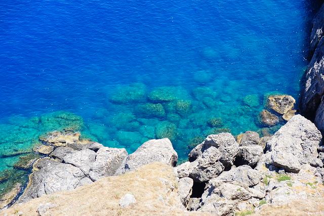 ロドス島の海