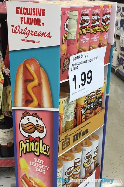 Hot Diggity Dog Pringles (Walgreens Exclusive Flavor)