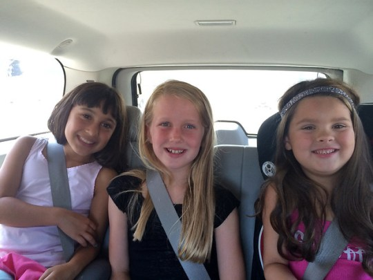 on the way to the Taylor Swift 1989 Tour LA