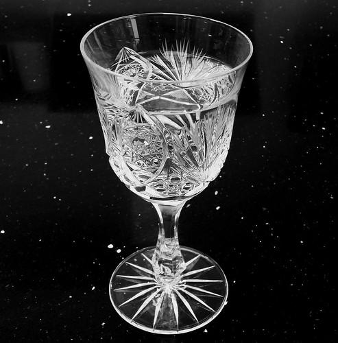 drink meer water ... uit een schoon glas