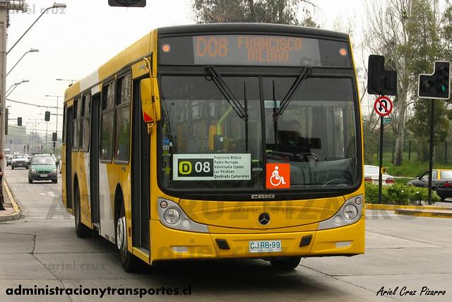 Transantiago - STP Santiago - Caio Mondego H / Mercedes Benz (CJRB99)