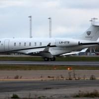 Jetfly AS LN-STB, OSL ENGM Gardermoen