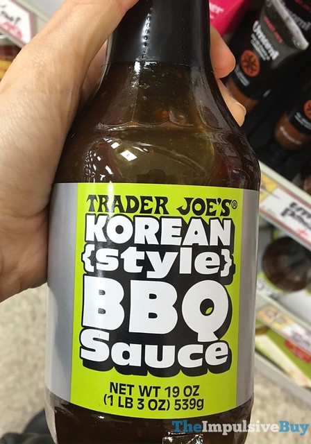 Trader Joe's Korean Style BBQ Sauce