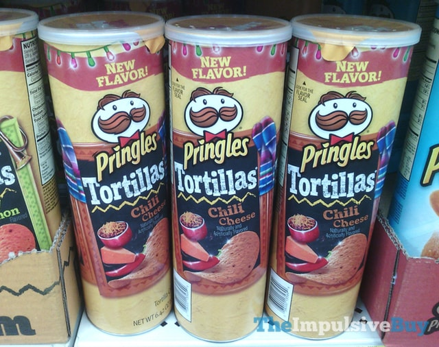 Chili Cheese Pringles Tortillas