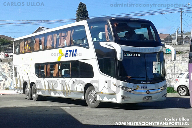Buses ETM - Ancud - Marcopolo Paradiso 1800 DD / Scania (DLFJ94)