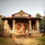 Debre Birhan Selassie Church in Gondar, the Lone Survivor