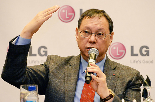 Jo Seong-jin, presidente y CEO de la LG Electronics Home Appliance & Solution Air Company