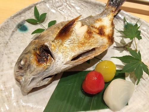 えぼ鯛の焼き物@魚こう鮨 西荻窪店