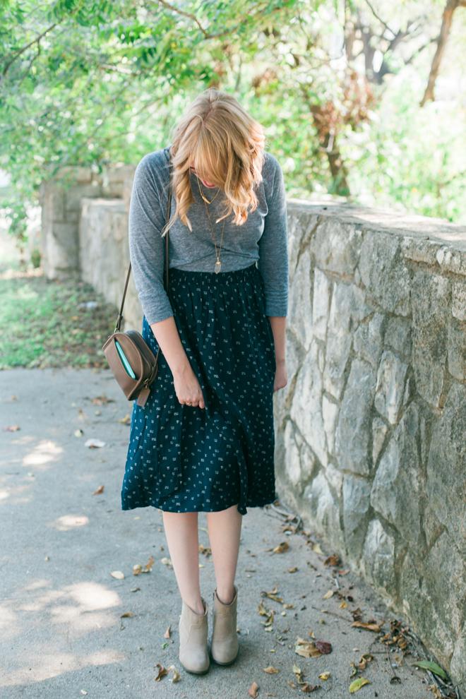 old navy midi skirt10