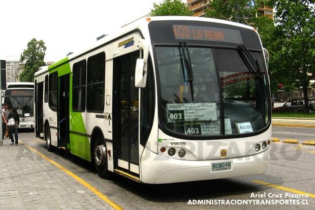 Transantiago - Express de Santiago Uno - Busscar Urbanuss Pluss / Volvo (BCBC10)