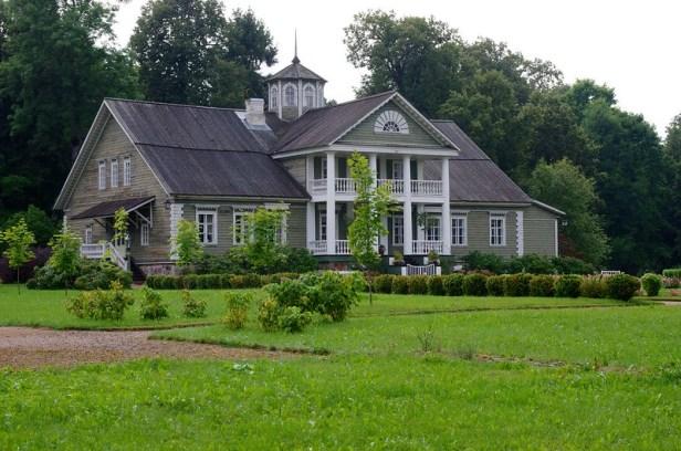 Усадьба Петровское, Пушкинские горы, Россия, дом Арапа