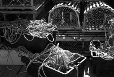 Lobster Traps and Line