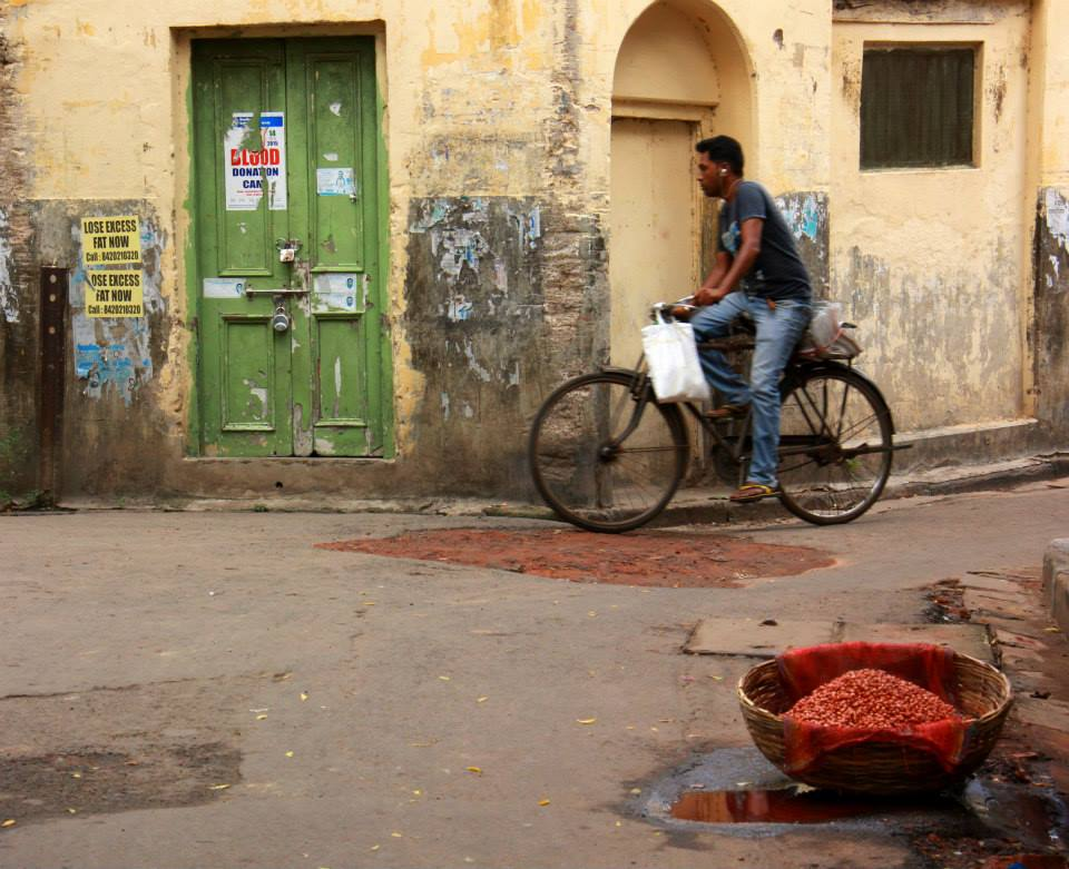 the small alleys of Kolkata