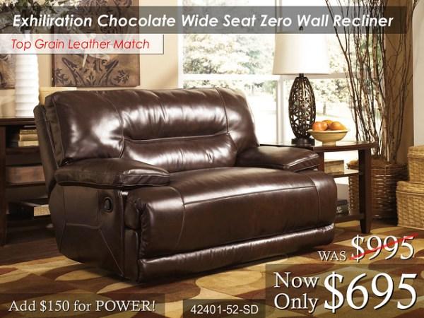 Exhiliration Chocolate Zero Wall