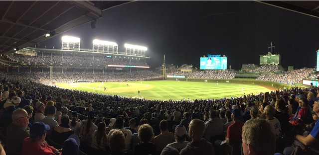View From My Seat at Wrigley Field: Mets Vs. Cubs #NLCS -