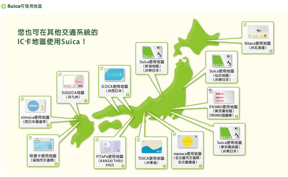 日本鐵路心得 suica