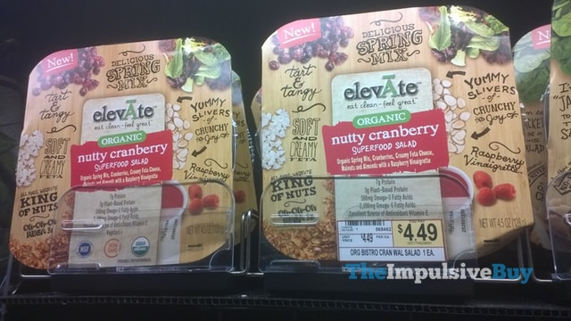 elevAte Organic Nutty Cranberry Superfood Salad