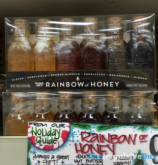 Trader Joe's Rainbow of Honey