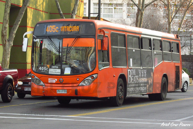 Transantiago - Express de Santiago Uno - Marcopolo Gran Viale / Volvo (ZN4403)
