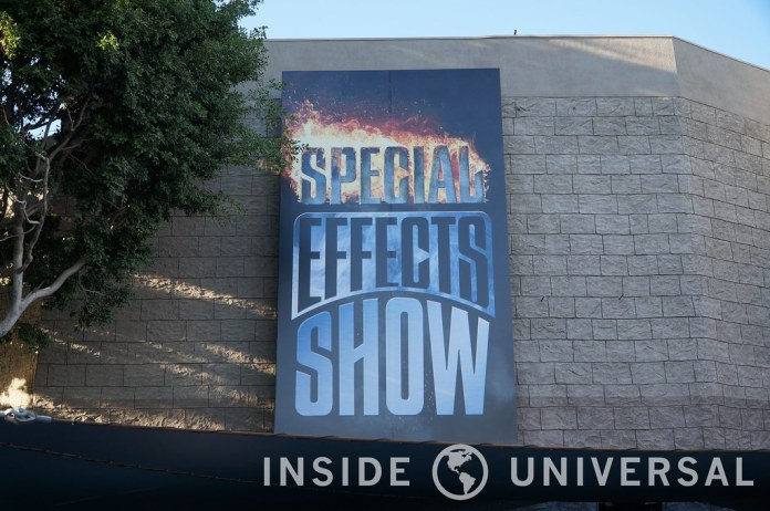 New Special Effects Show - Universal Studios Hollywood