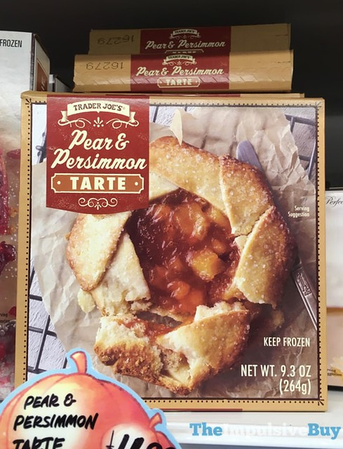 Trader Joe's Pear & Persimmon Tarte