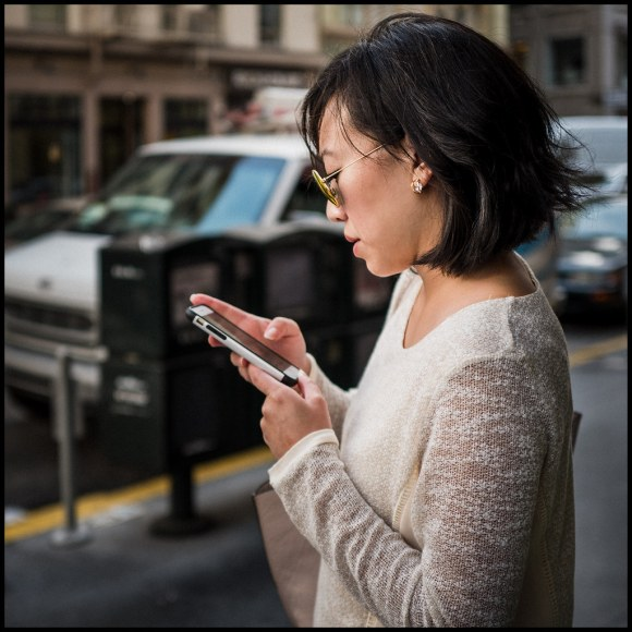 Waiting for Uber - San Francisco - 2015