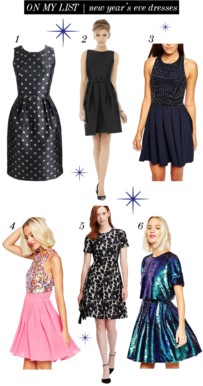 on my list new years eve dresses