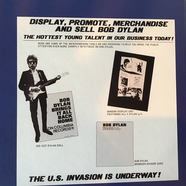 Bob Dylan - The U.S. Invasion is Underway