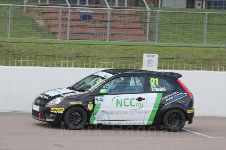 Race 2 at the BRSCC Fiesta Junior Championship, Rockingham, Sept 2015