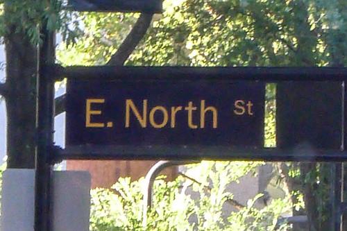 E. North Street