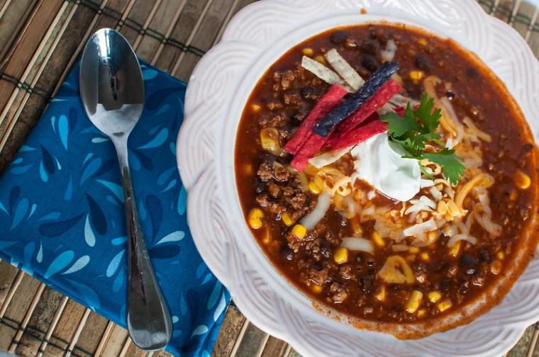 Turkey and Corn Chili 2