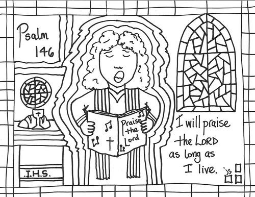 Church Bulletin Covers: Psalm 146 – Ordinary 31B