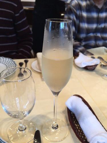 乾杯は、シャンパンで!