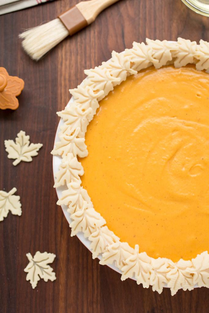 filled sweet potato pie