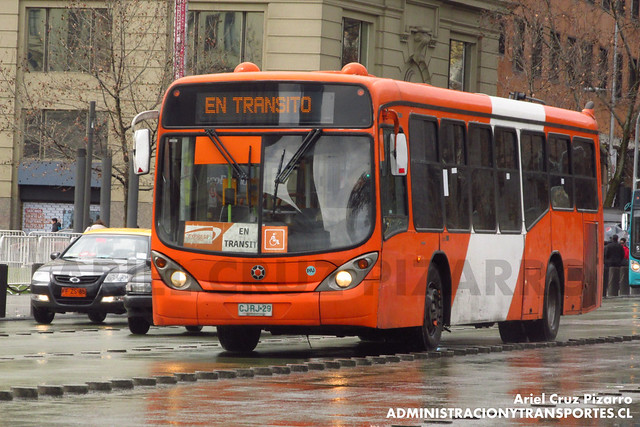 Transantiago - Express de Santiago Uno - Marcopolo Gran Viale / Volvo (CJRJ29)