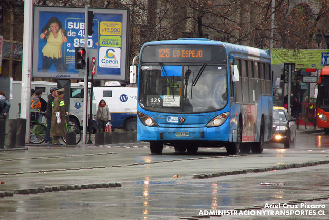 Transantiago - Inversiones Alsacia - Marcopolo Gran Viale / Volvo (ZN4105)
