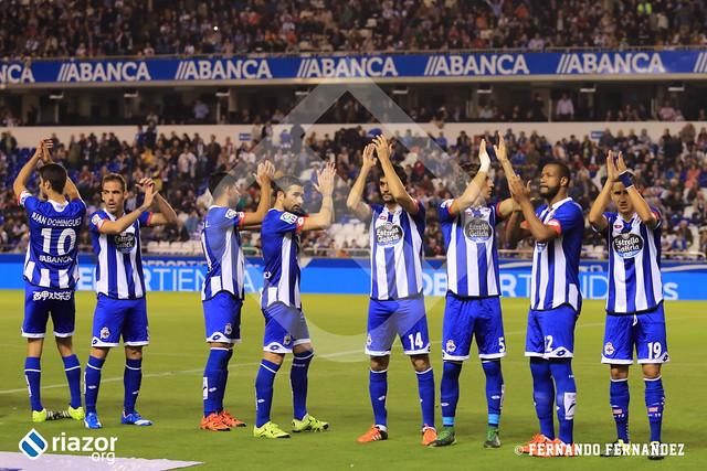 Temporada 15/16. Jornada 8ª . R.C. Deportivo 2 -  Athletic Bilbao 2