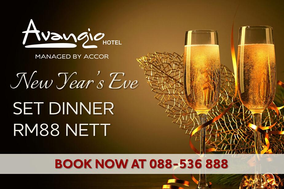 Christmas Eve Set Dinner and the New Year Eve's Set Dinner, Avangio Hotel, Metro Town, Kota Kinabalu, Sabah, Chloe Tiffany Lee.jpg1