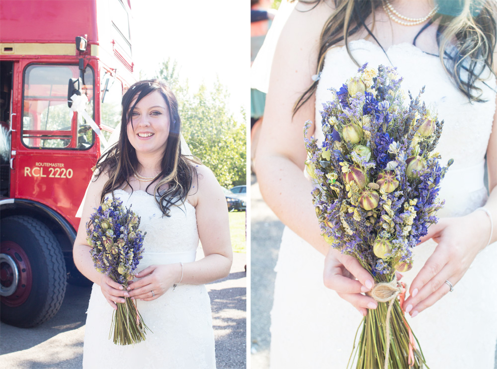 4. Chrissy bouquet shot chrissy and dan wedding