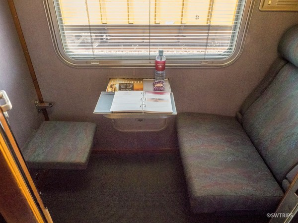 The Ghan Cabin