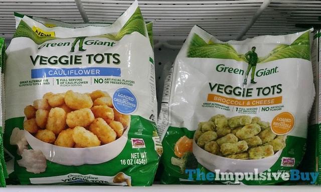 Green Giant Veggie Tots (Cauliflower and Broccoli & Cheese)