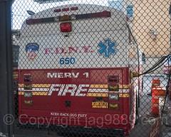 FDNY Major Emergency Response Vehicle, EMS Station 4, Lower East Side, Manhattan, New York City