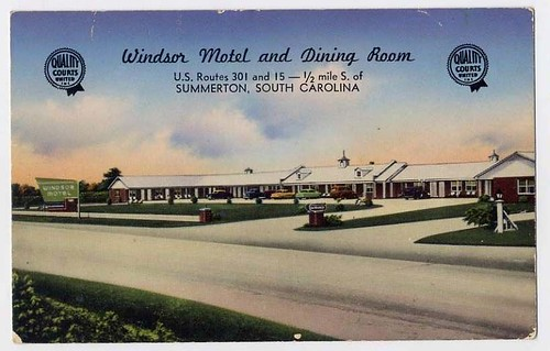 Windsor Motel and Dining Room Summerton front