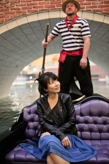The Venetian Gondola Ride Vegas.